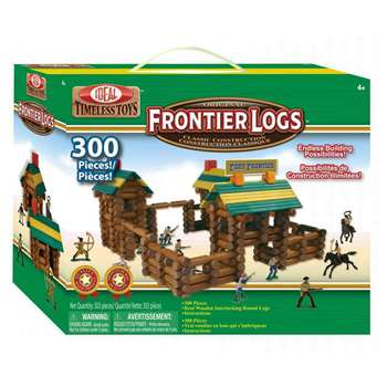 Frontier Logs 300 Pieces By Poof Products Slinky