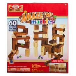 Amaze-N-Marbles 60 Piece Set By Poof Products Slinky