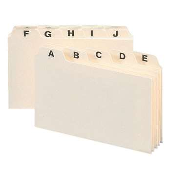 Smead A-Z Index Card Guides 4 X 6, SMD56076