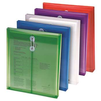 Poly Color Envelopes 5Pk Assorted Colors By Smead Manufacturing Company