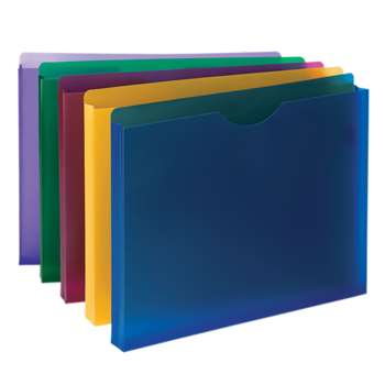 Smead Poly Expanding File Pockets Jackets 1 Expans, SMD89610
