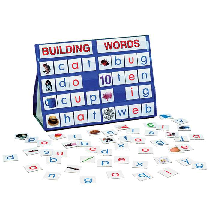 Table Top Pocket Chart Sets Building Words By Smethport Specialty