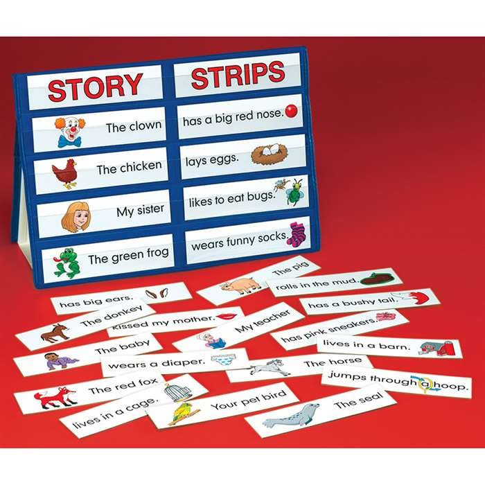 Table Top Pocket Chart Sets, Story Strips By Smethport Specialty