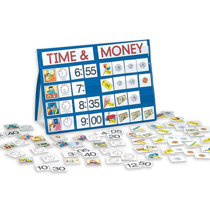Time & Money Portable Top Pocket Chart By Smethport Specialty