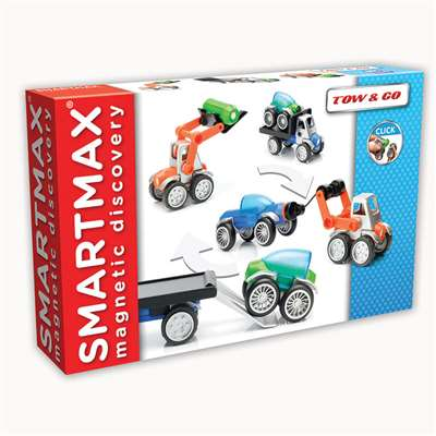 Smartmax Power Vehicles Tow & Go By Smart Toys And Games