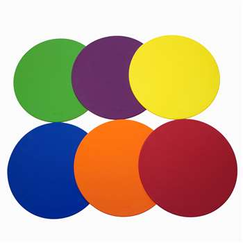 "Spot Markers 5"" Set Of 6, SRBDM5CP"