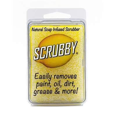 Scrubby Soap Lemon, SRU0002