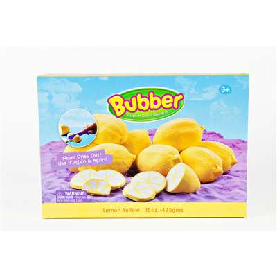 Bubber 15 Oz Big Box Yellow Lightweight Modeling Compound By Waba Fun