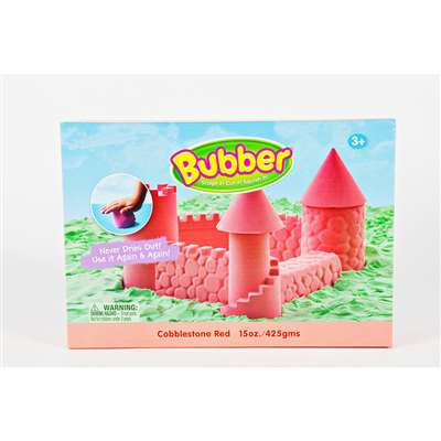 Bubber 15 Oz Big Box Red Lightweight Modeling Compound By Waba Fun