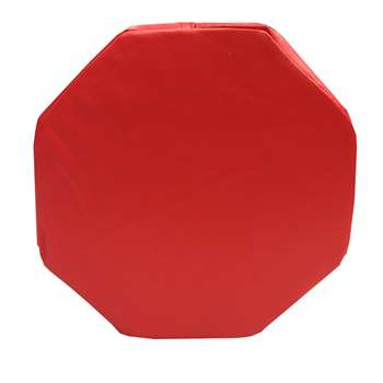 Red Octagon Pillow, SSZ58735
