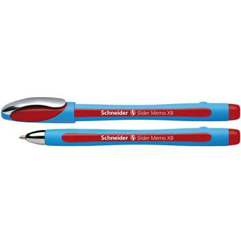 Schneider Red 10Pk Memo Slider Xb Ballpoint Pen By Stride