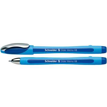 Schneider Blue 10Pk Memo Slider Xb Ballpoint Pen By Stride