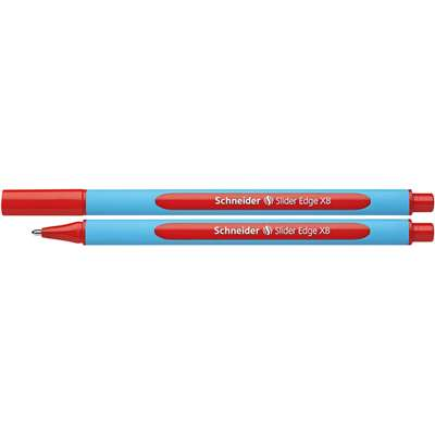 Schneider Red Slider Edge Xb Ballpoint Pen By Stride
