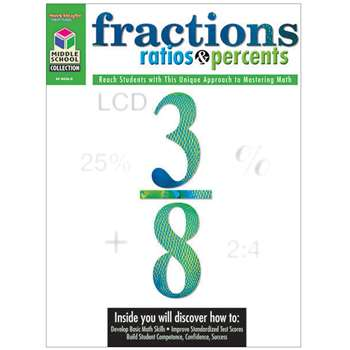 Middle School Math Collection Fractions Ratios & Percents By Houghton Mifflin
