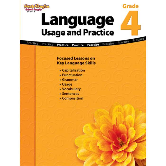 Language Usage And Practice Gr 4 By Steck Vaughn