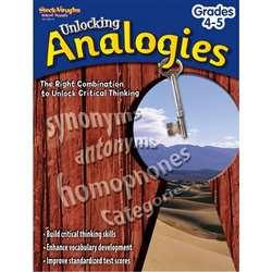 Unlocking Analogies Grs 4-5 By Harcourt School Supply