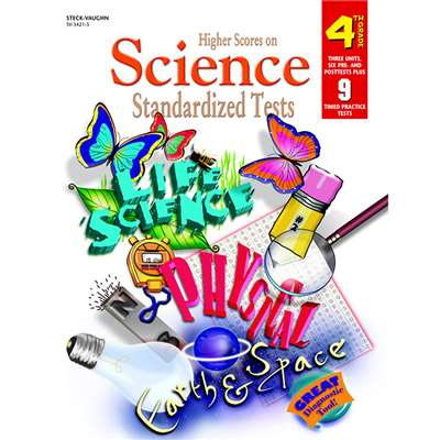 Higher Scores Science Tests Grade 4 By Harcourt School Supply