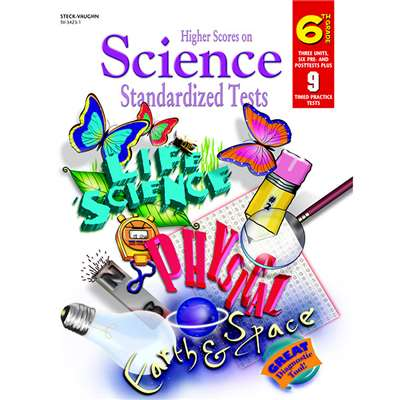 Higher Scores Science Tests Grade 6 By Harcourt School Supply
