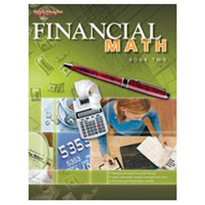 Financial Math Book 2 By Harcourt School Supply