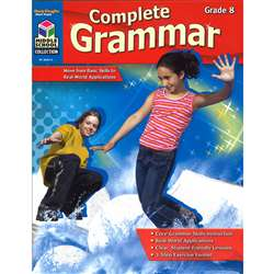 Complete Grammar Grade 8 By Harcourt School Supply