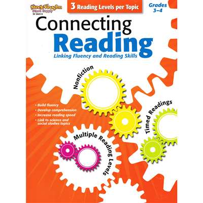 Connecting Reading Grades 3-4 By Harcourt School Supply