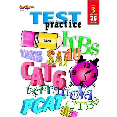 Test Practice Grade 3 By Harcourt School Supply