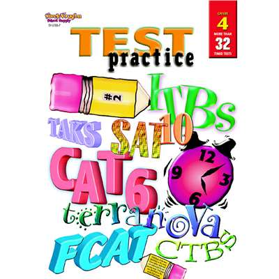 Test Practice Grade 4 By Harcourt School Supply