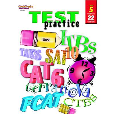 Test Practice Grade 5 By Harcourt School Supply