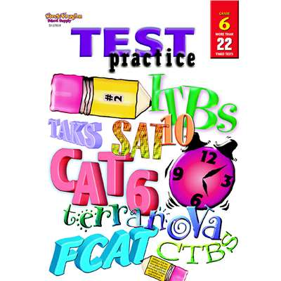 Test Practice Grade 6 By Harcourt School Supply
