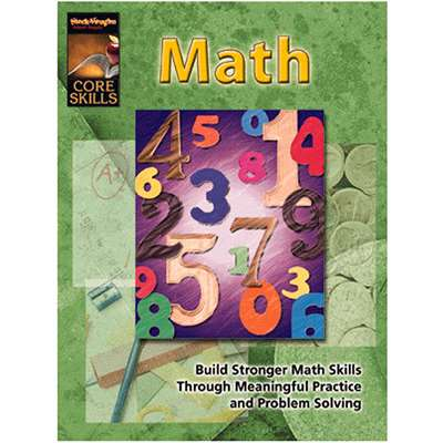 Core Skills Math Grade 1 - Sv-57231 By Harcourt School Supply