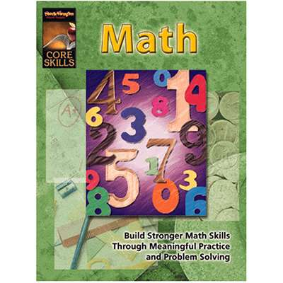 Core Skills Math Grade 3 - Sv-57258 By Harcourt School Supply