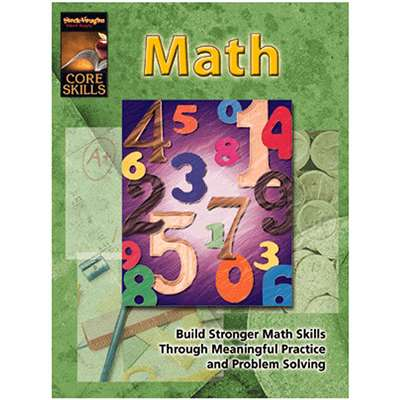 Core Skills Math Grade 4 - Sv-57266 By Harcourt School Supply