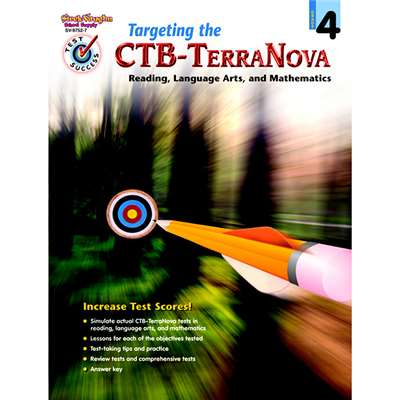Test Success Targeting The Ctb/ Terranova Gr 4 By Harcourt School Supply
