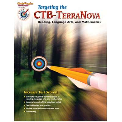Test Success Targeting The Ctb/ Terranova Gr 5 By Harcourt School Supply