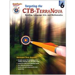 Test Success Targeting The Ctb/ Terranova Gr 6 By Harcourt School Supply