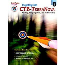 Test Success Targeting The Ctb/ Terranova Gr 8 By Harcourt School Supply