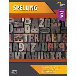 Shop Core Skills Spelling Gr 5 - Sv-9780544267824 By Houghton Mifflin