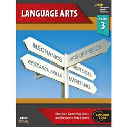 Core Skills Language Arts Grade 3, SV-9780544267862