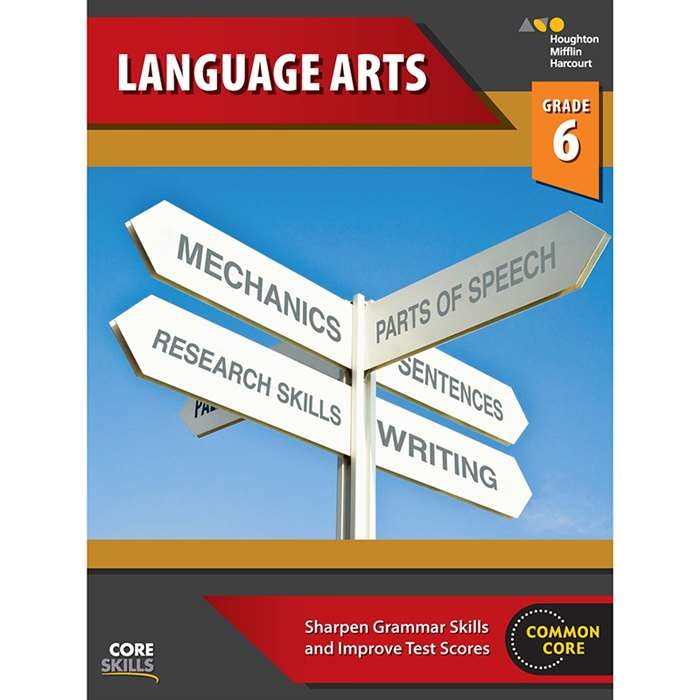 Core Skills Language Arts Grade 6, SV-9780544267893