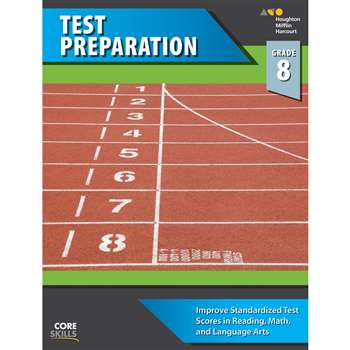 Core Skills Test Preparation Gr 8, SV-9780544268609