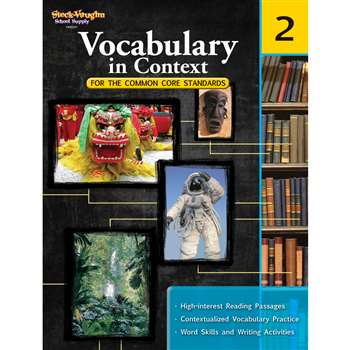 Gr 2 Vocabulary In Context For The Common Core Standards By Houghton Mifflin