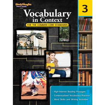 Gr 3 Vocabulary In Context For The Common Core Standards By Houghton Mifflin