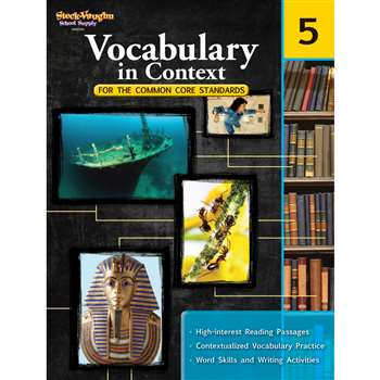 Gr 5 Vocabulary In Context For The Common Core Standards By Houghton Mifflin