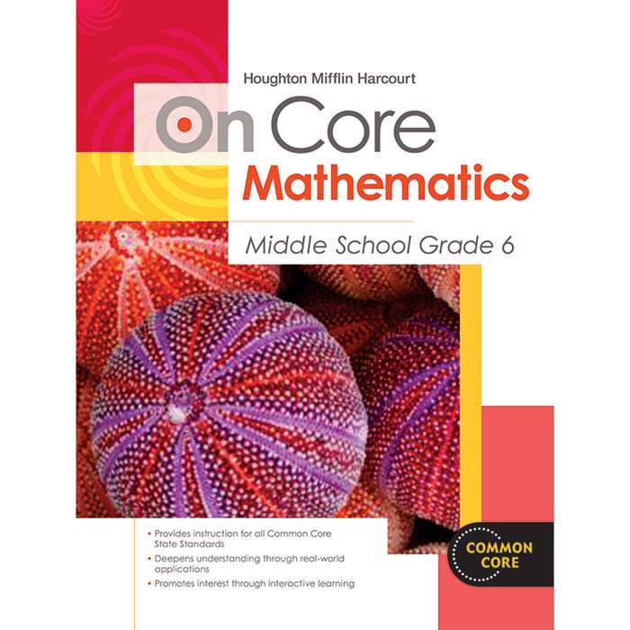 On Core Mathematics Bundles Gr 6 By Houghton Mifflin