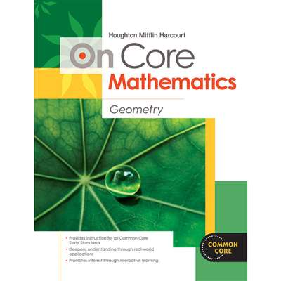 On Core Mathematics Geometry Bundles By Houghton Mifflin