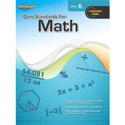 Core Standards For Math Gr 6 By Houghton Mifflin
