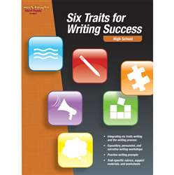 Six Traits For Writing Success High School By Houghton Mifflin