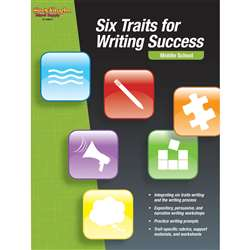 Six Traits For Writing Success Middle School By Houghton Mifflin