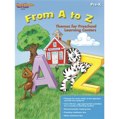 From A To Z Gr Pk-K By Houghton Mifflin