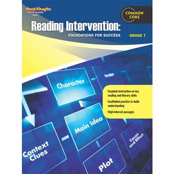 Reading Intervention Gr 7 Foundations For Success By Houghton Mifflin